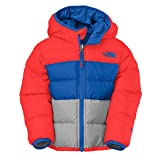 The Northface Kid's Toddlers Boys Reversible Moondog Jacket NF00CSB215Q Fiery 2T
