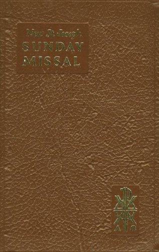 (St. Joseph Sunday Missal)