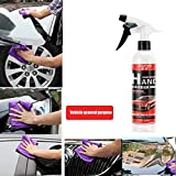 dzt1968  Ultra Shine Wax Spray Mirror Shine Super Gloss Hybrid Wax Spray & Sealant Hybrid Spray by Torque Detail for Paint Polish & Sealer, Multi-Surface Top Coatfor for Car, Bike & Boat (A)