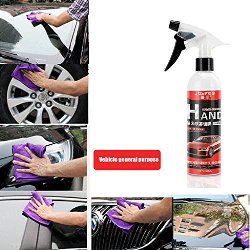 dzt1968 ® Ultra Shine Wax Spray Mirror Shine Super Gloss Hybrid Wax Spray & Sealant Hybrid Spray by Torque Detail for Paint Polish & Sealer, Multi-Surface Top Coatfor for Car, Bike & Boat (A)