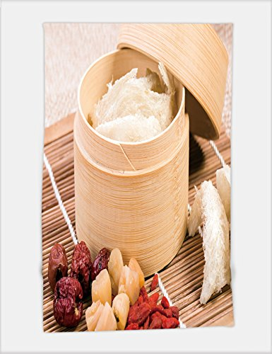 Minicoso Bath Towel edible bird s nest in the bamboo steamer chinese food style 193867346 For Spa Beach Pool Bath