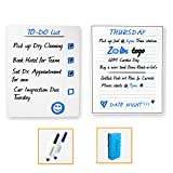 Magnetic Notepad and Dry Erase White Board for Fridge With Strong...