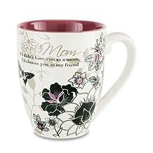"Mark My Words 66344 ""Mom"" Mug, 20 oz, Multicolored"