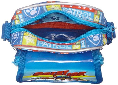 Paw Patrol Pups Borsa Messenger, 19 cm, 2.85 Litri, Blu