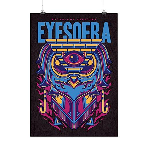 Eyes Of RA God Fashion Matte/Glossy Poster A2 (60cm x 42cm) | (Ra God Costume)
