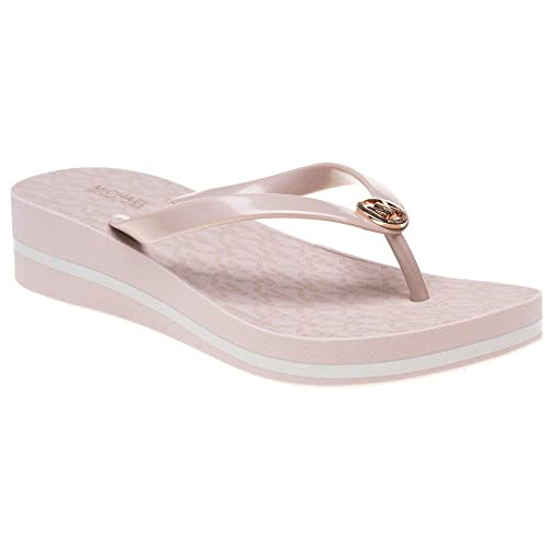 878ddde1e789 Michael Kors Bedford Flip Flop Stripe Sandals Pink 7.5 UK  Amazon.co.uk   Shoes   Bags