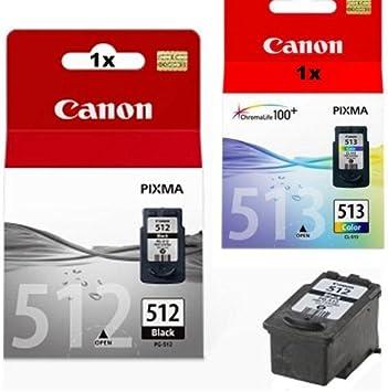 Kombi Pack 1x Original Canon Xl Tintenpatrone Pg 512 1x Original Canon Xl Tintenpatrone Cl 513 Für Canon Pixma Ip 2700 Ip 2702 Black Color Leistung 15ml 13ml Bürobedarf Schreibwaren
