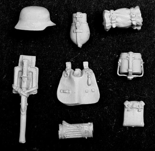 アンドレアミニチュアズ S5-A4 German Infantry Personal Equipment