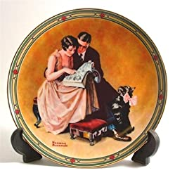 Knowles A Couples Commitment by Norman Rockwell American Dream CP436