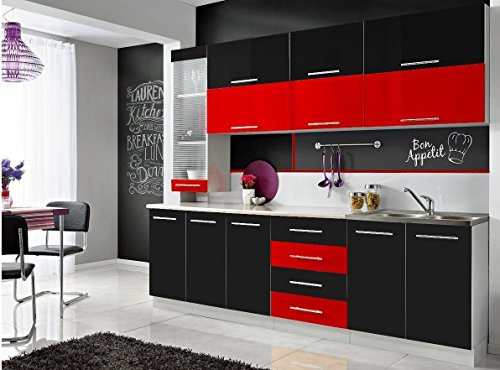 CON Komplette Küche Moni S 260 cm Verschiedene ...