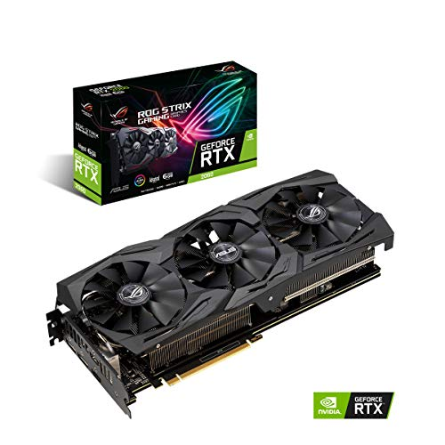 ASUS ROG Strix GeForce RTX™ 2060 Advanced edition 6GB GDDR6 with powerful cooling for higher refresh rates (ROG-STRIX-RTX2060-A6G-GAMING)