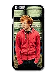 Ed Sheeran Red Hoodie Posing case for iPhone 6 Plus by ruishername