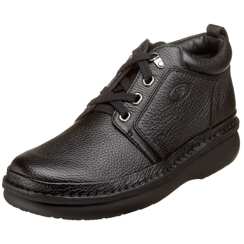 Propet Men's Village Walker Mid Oxford,Black Grain,8.5 XX (US Men's 8.5 EEEEE) M4078