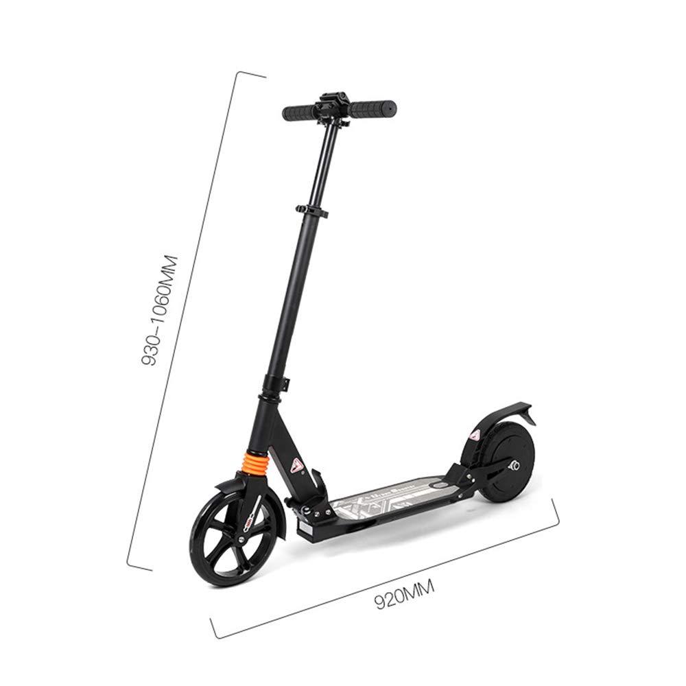 Scooter eléctrico plegable - Sistema de 2 amortiguadores ...