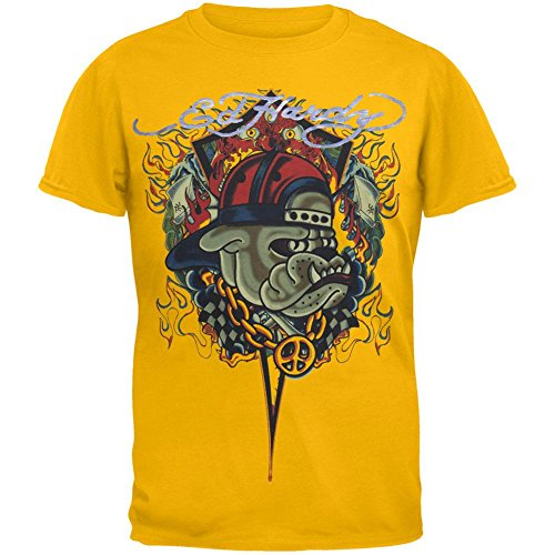 Ed Hardy - Bulldog Thug Youth T-Shirt - Youth (Ed Hardy Boys Rock)