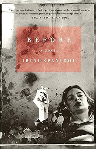 Before (Vintage International): Irini Spanidou: 9780375713149