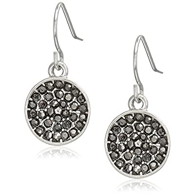 Kenneth Cole New York Marcasite Accent Drop Earrings free shipping