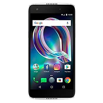 Image of Alcatel Idol 5S 6060S 4G LTE 32GB Android 7.1 Smartphone (Crystal Black) - GSM Unlocked Unlocked Cell Phones