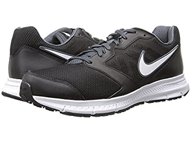 Nike Downshifter 6 Black/Dark Magnet Grey/White Mens Running Shoes (Size 6.5