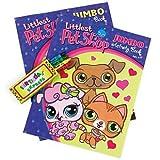Party Supplies - Littlest Pet Shop Jumbo Activity Book