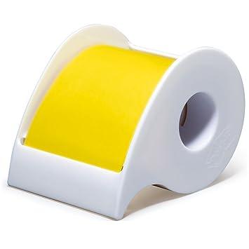 Post-it fuerte adhesivo rollo 50 mm ~ amarillo ssr-50y con dispensador de