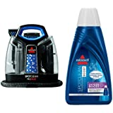 BISSELL SpotClean ProHeat Portable Spot Cleaner, 5207F and BISSELL OXYgen BOOST Portable Machine Formula, 32 ounces...