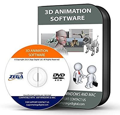 Blender 3d Animation Video Game Creation Designer Full Complete Software Program