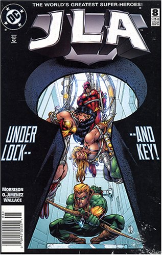 JLA #8 Under Lock And Key!