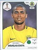 #10: 2018 Panini World Cup Stickers Russia #368 Douglas Costa Brazil Soccer Sticker