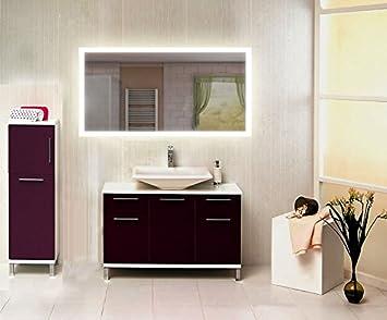 Homespiegel Avec éclairage Led Mimoza Hrl66p Bh 170x80 Cm