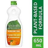 Seventh Generation Dishwashing Liquid Lemongrass & Clementine 650ml