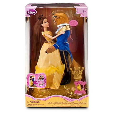 Disney Princess Exclusive Beauty And The Beast Remote