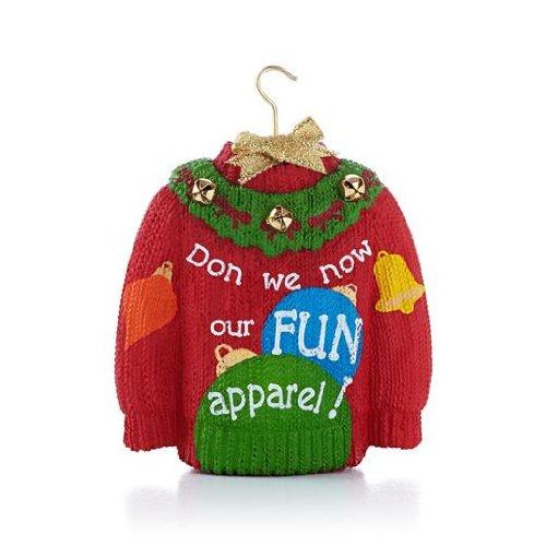 Holiday Sweater 2013 Hallmark Ornament