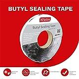 XFasten Black Butyl Seal Tape 1/8-Inch x 3/4-Inch x
