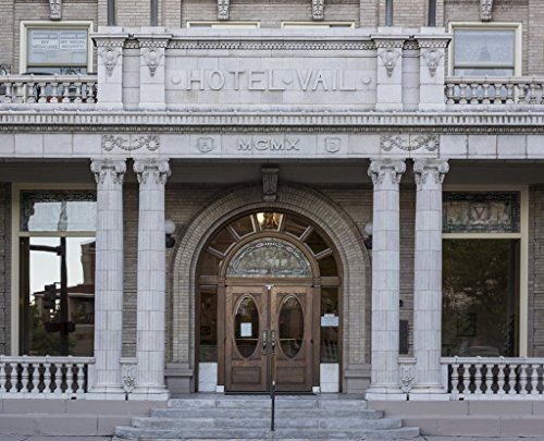 Photograph - Elaborate doorway of the Second Renaissance Revival-style Hotel Vail in Pueblo, Colorado- Fine Art Photo Reporduction 20in x 16in