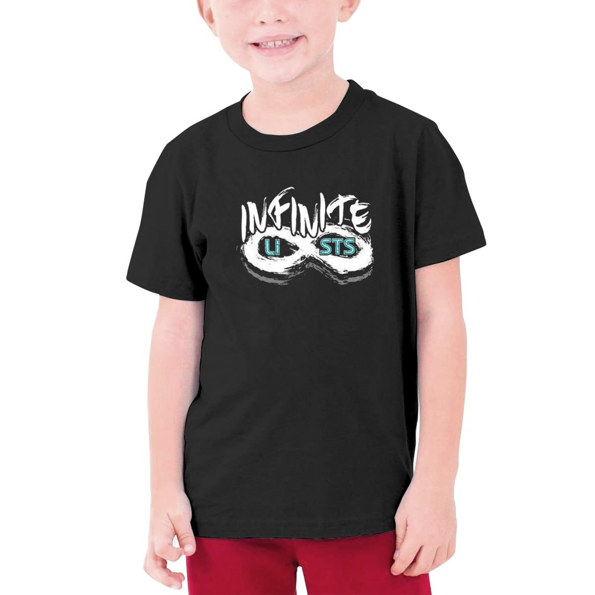 Joyracka Infinite Lists T Shirt For Ang Girls 2564
