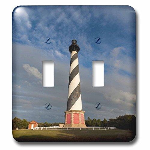 (3dRose (LSP_231450_2 Double Toggle Switch North Carolina, Cape Hatteras)