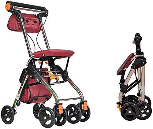 Andadores Andador De 4 Ruedas Plegable Portátil, Drive Andadores ...