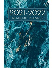 2021-2022 Academic Planner: Hardcover Academic Year 2021-2022 Planner Blue Marble