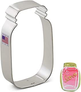 product image for Ann Clark Cookie Cutters Mason Jar Cookie Cutter, 4.5""