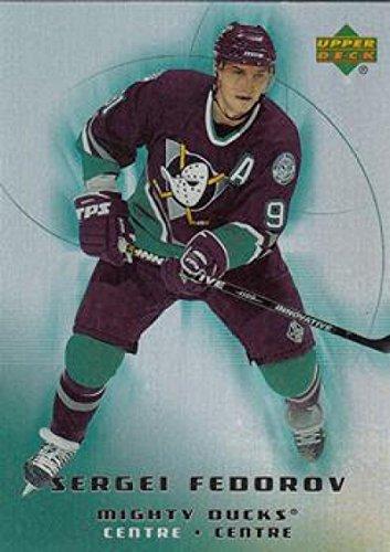 (2005-06 McDonald's #3 Sergei Fedorov MINT Hockey NHL Ducks)