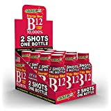 B12 ENERGY SHOT 4OZ (NOT 2OZ) 10,000% , ACAI & POMEGRANATE BY STACKER 2 (LOT OF 12 PIECES) FREE SHIPPING