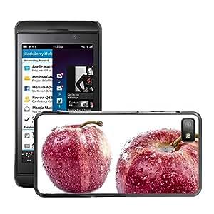 Etui Housse Coque de Protection Cover Rigide pour // M00152247 Fondo blanco Red One aislada // BlackBerry Z10