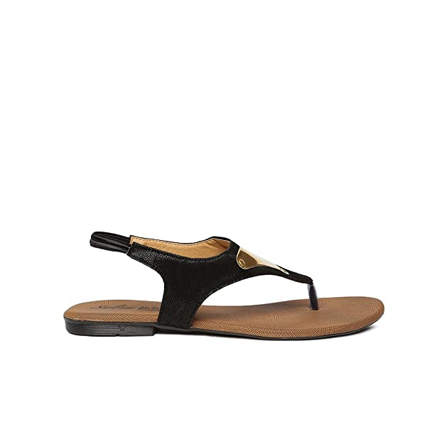 31a405bd0 PARAGON SOLEA Plus Women s Black Sandals  Buy Online at Low Prices in India  - Amazon.in