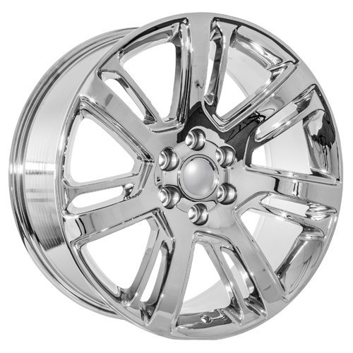 chrome 24 inch rims - 5