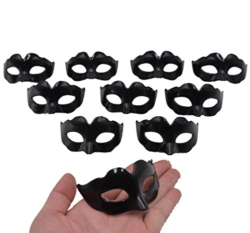 Mini Masquerade Masks Party Decoration - Yiseng 10pcs