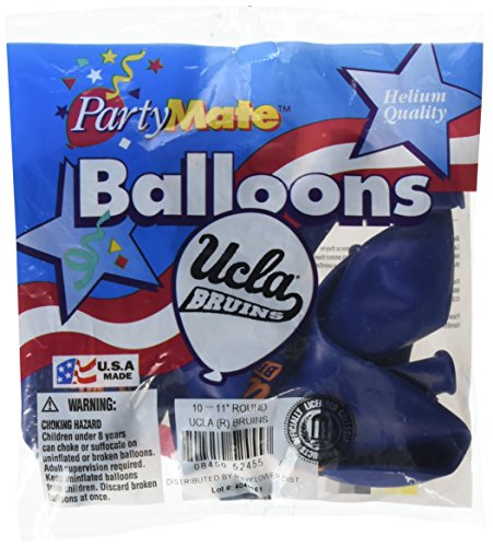 Pioneer Balloon Company 10 Count Ucla Latex Balloon, 11