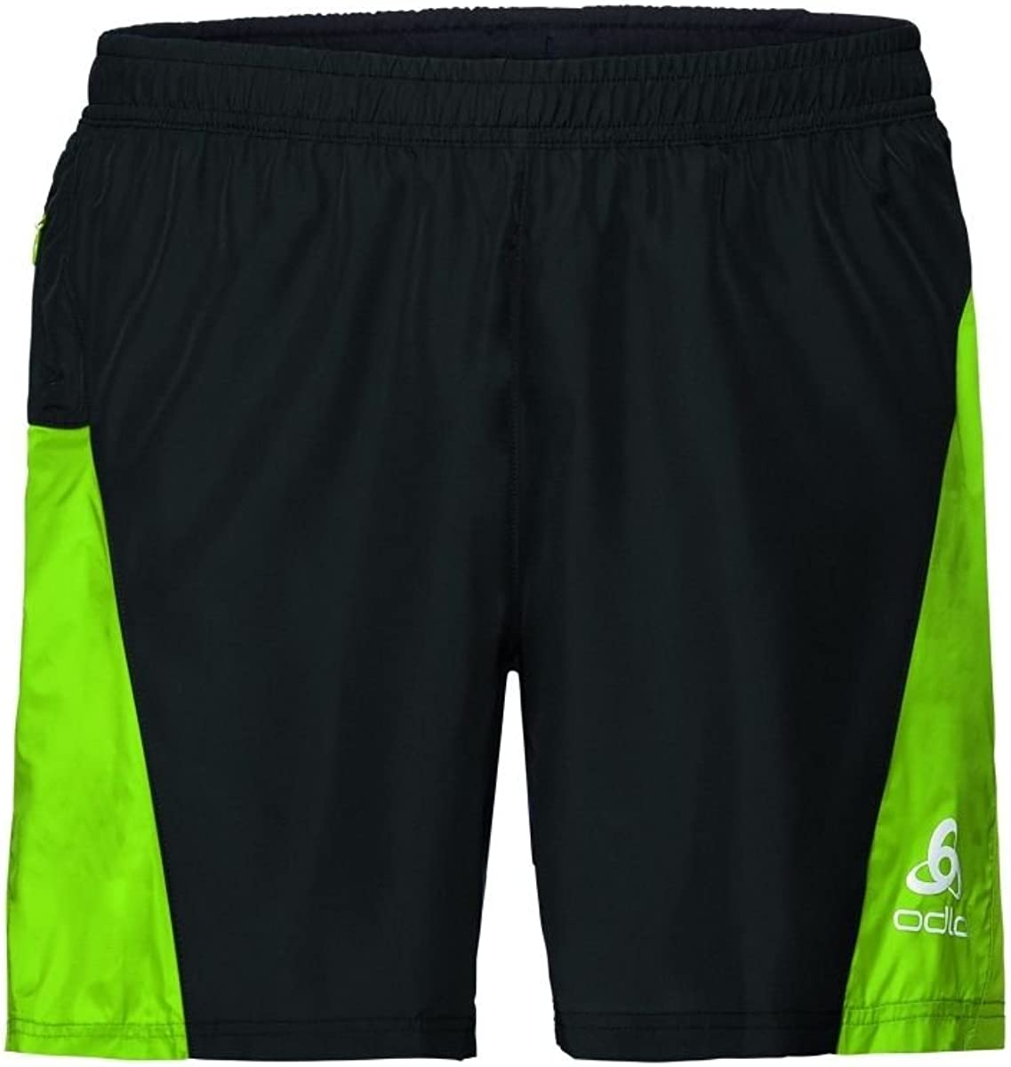 ODLO Mens Shorts With Inner Brief Omnius Running