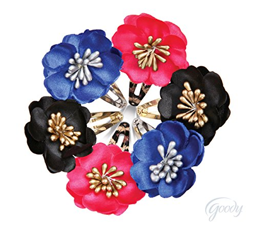 FashioNow Small Flowers on Cheetah Contour Clips