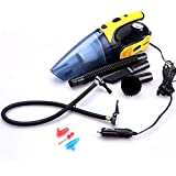 LPY Four In One Car Air Pump / Vacuum Cleaner Wet And Dry Multi Purpose 12V Tire Inflator